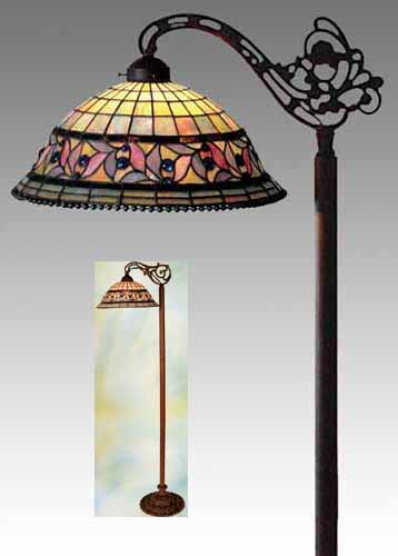 dale tiffany floor lamps photo - 3