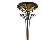 dale tiffany floor lamps photo - 5