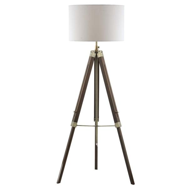 Dark Wood Floor Lamp: dark wood floor lamp photo - 7,Lighting