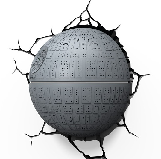 death star lamp photo - 1