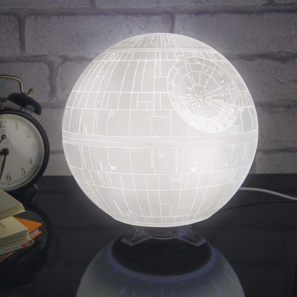 death star lamp photo - 3