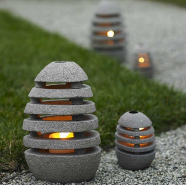 decorative outdoor lights photo - 2