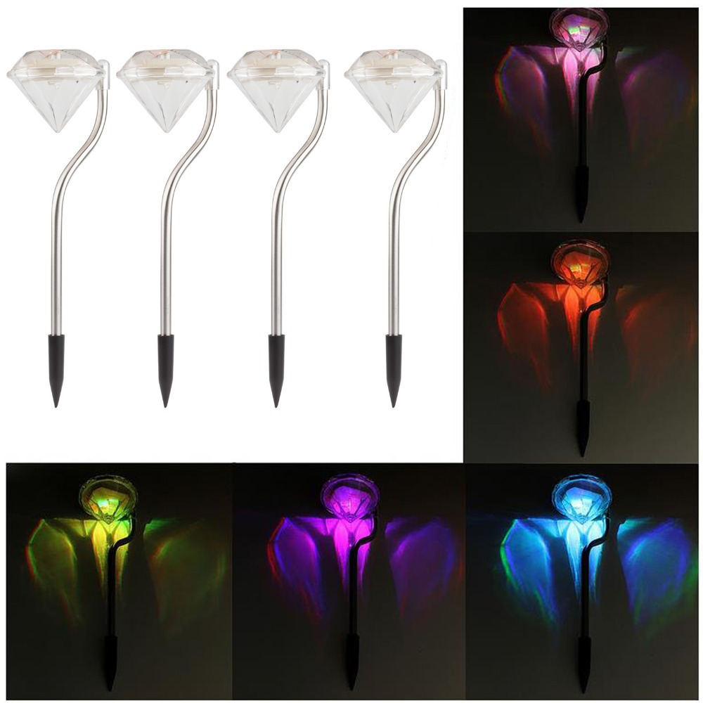 decorative outdoor solar lights photo - 6