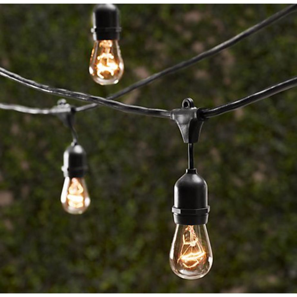 decorative outdoor string lights photo - 2