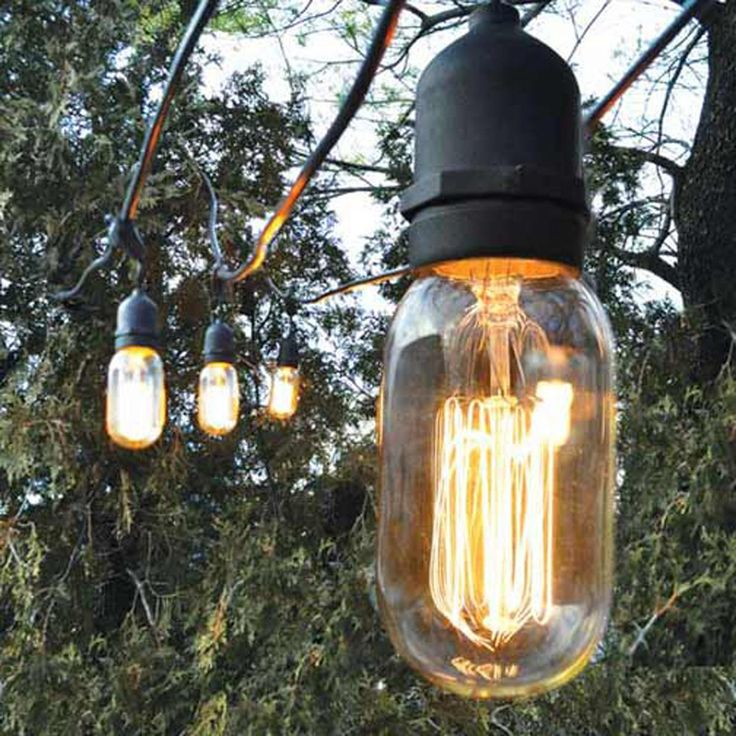 decorative string lights outdoor photo - 1