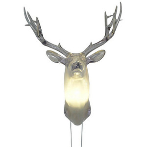 deer head lamp photo - 7