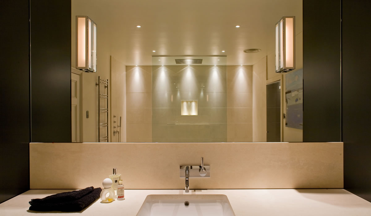 designer bathroom wall lights photo - 5