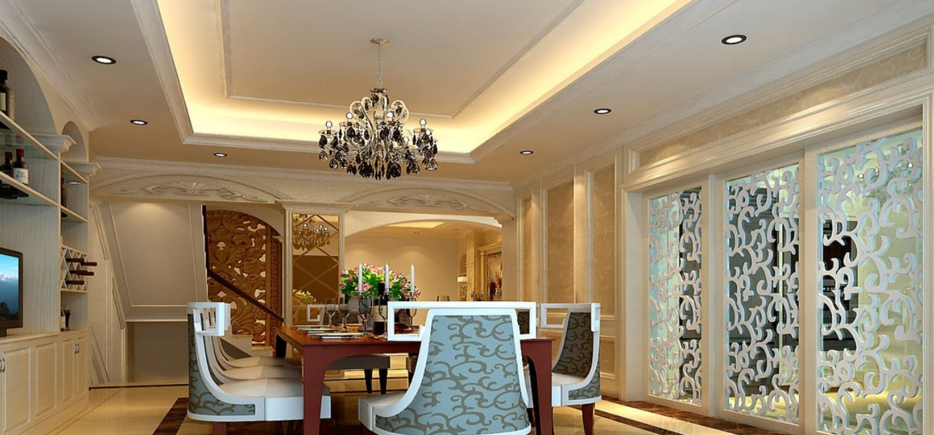 dining room ceiling lights photo - 2