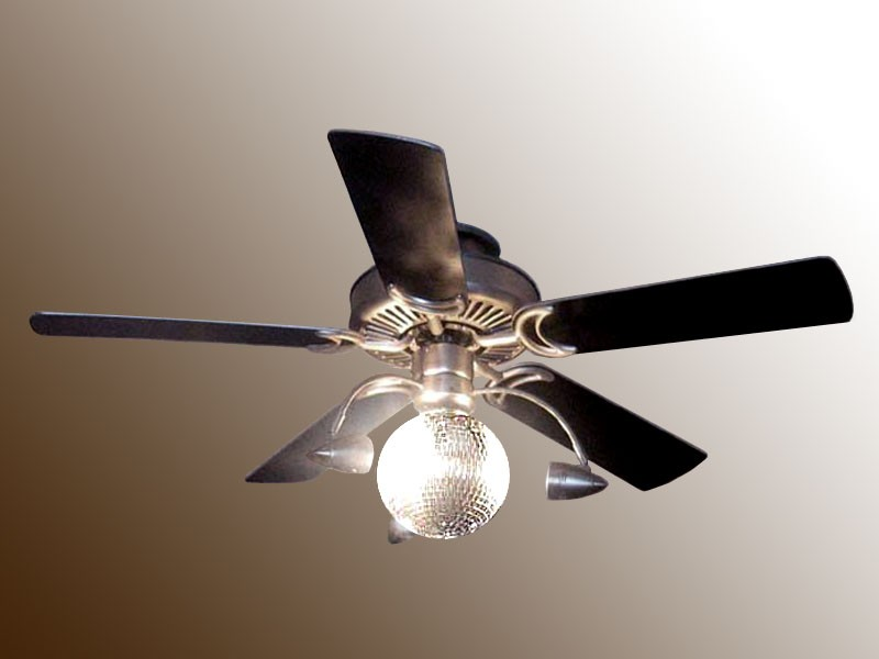 disco ball ceiling fan photo - 1