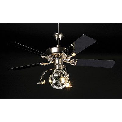 disco ball ceiling fan photo - 2
