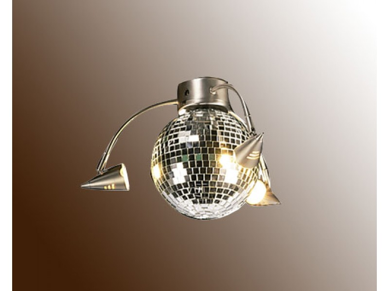 gallery for disco ball light fixture. Black Bedroom Furniture Sets. Home Design Ideas