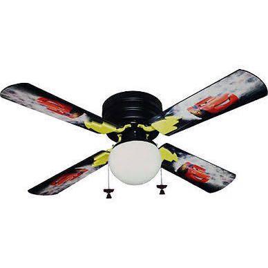 disney cars ceiling fan photo - 3