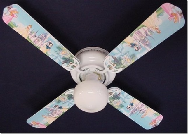 disney princess ceiling fan photo - 6