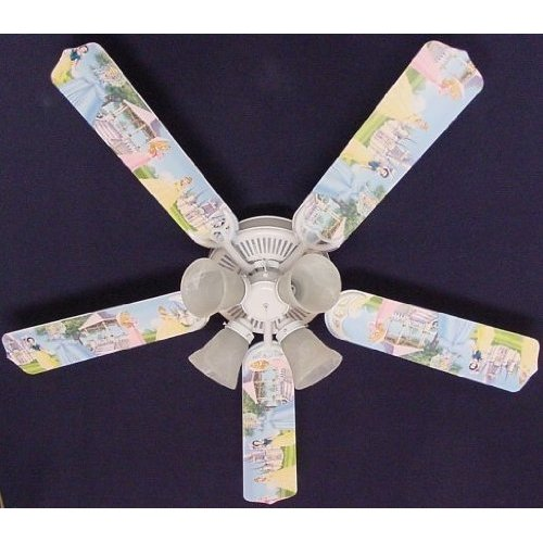 disney princess ceiling fan photo - 7