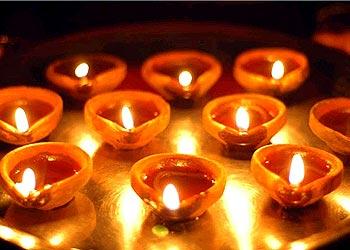 diwali lamps photo - 6