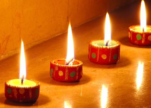 diwali lamps photo - 9