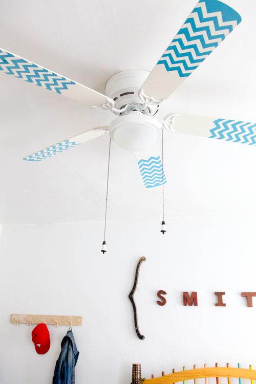 diy ceiling fan blades photo - 3