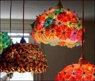diy ceiling light shades photo - 3