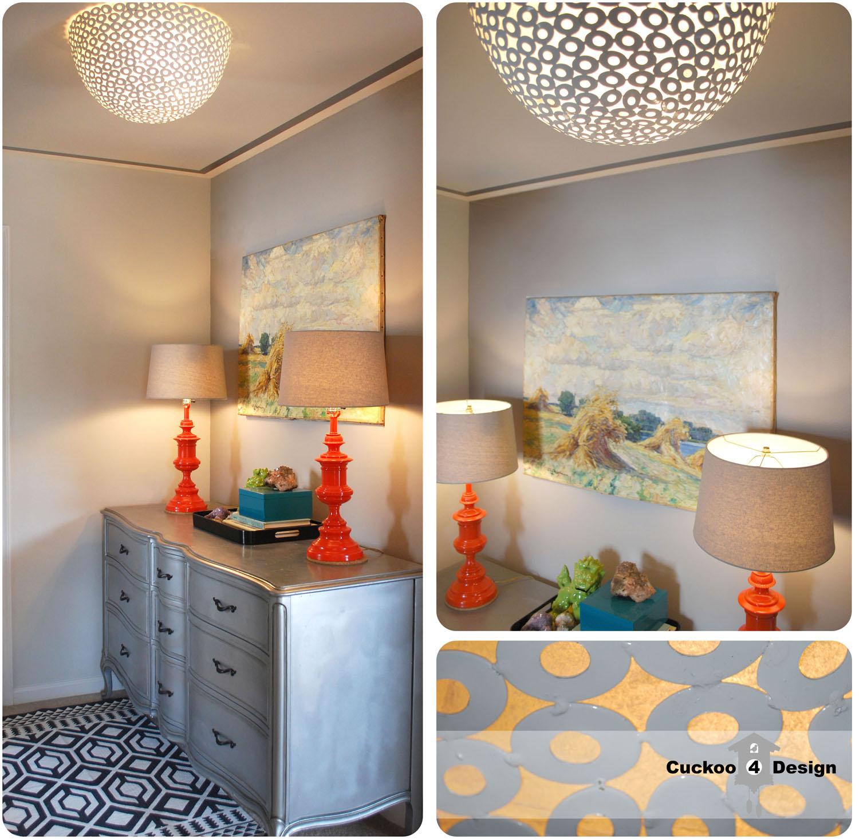 diy ceiling light shades photo - 5