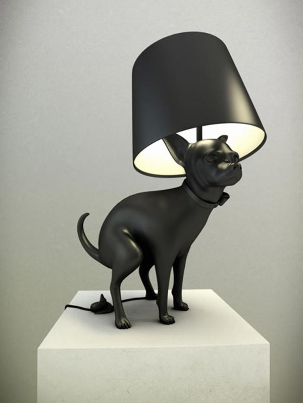 dog lamps photo - 1