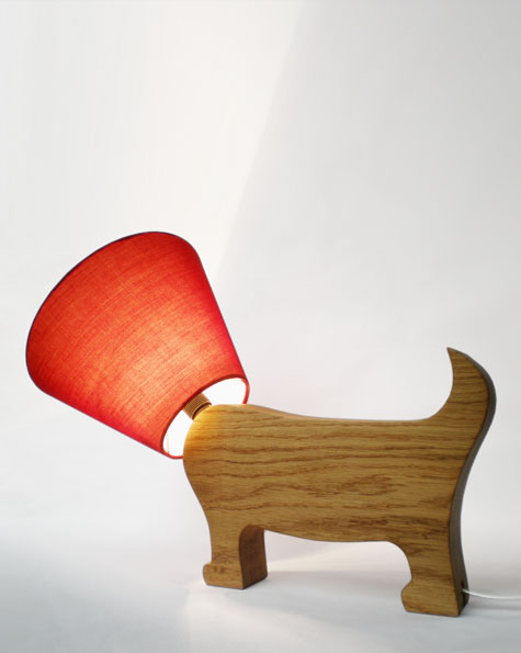 dog lamps photo - 8
