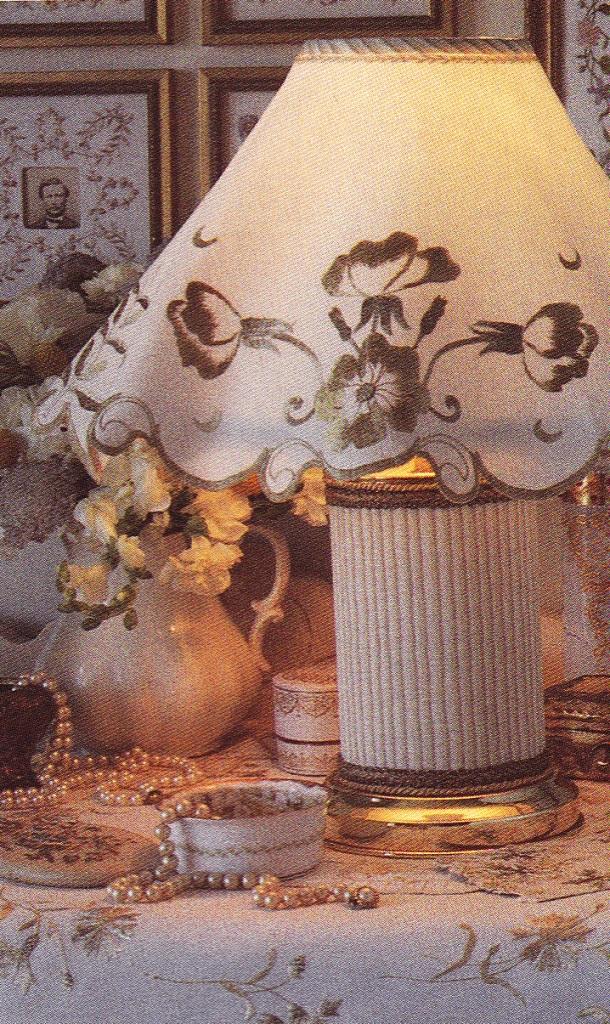 doily lamp photo - 10