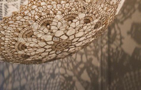 doily lamp photo - 3