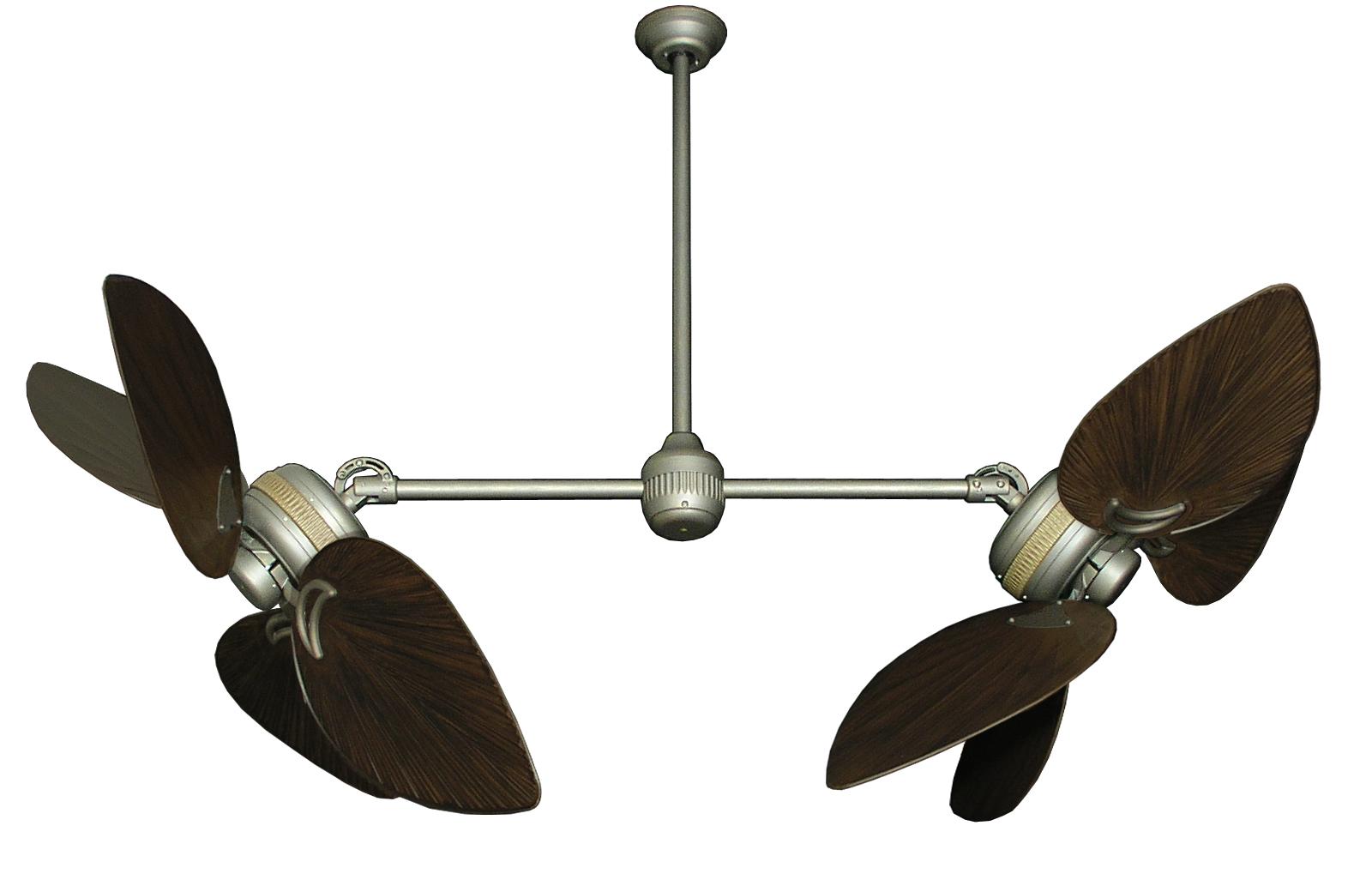 double blade ceiling fan photo - 3