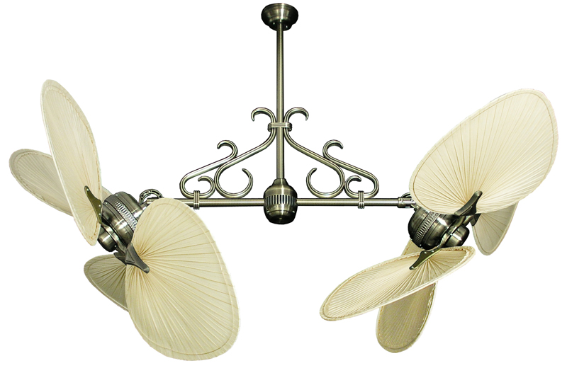 double blade ceiling fan photo - 9