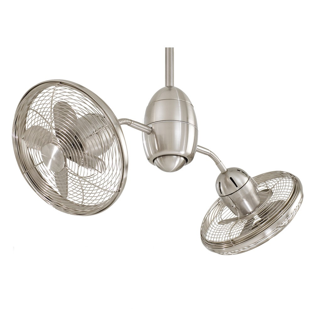 double oscillating ceiling fan photo - 8