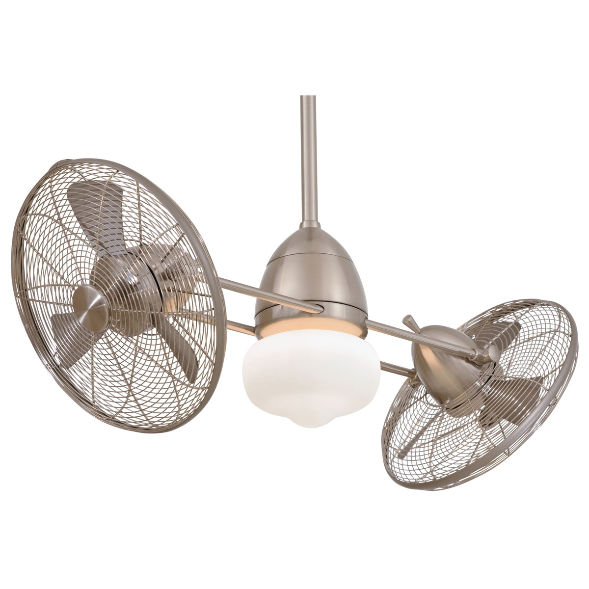 double oscillating ceiling fan photo - 9