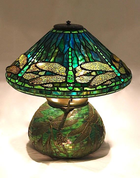 dragonfly tiffany lamp photo - 7