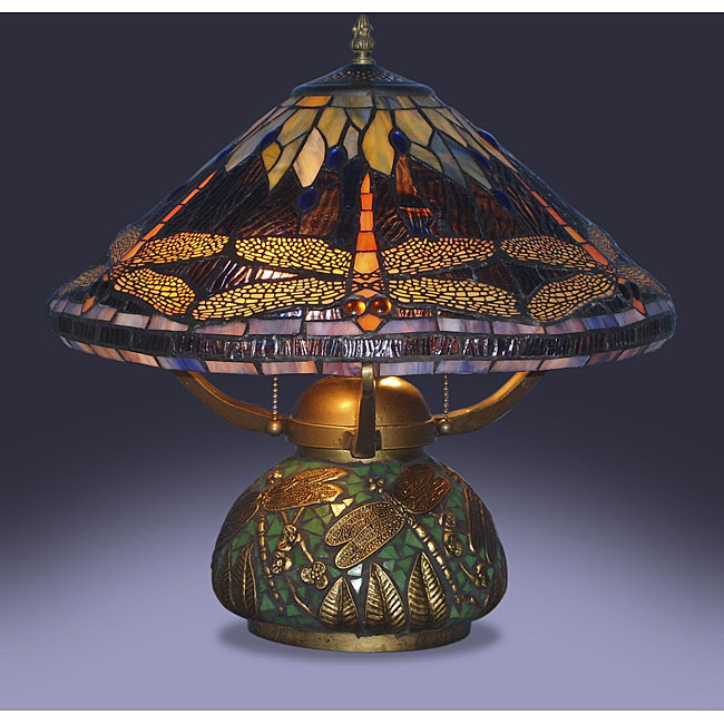 Dragonfly Tiffany Lamp Photo   8