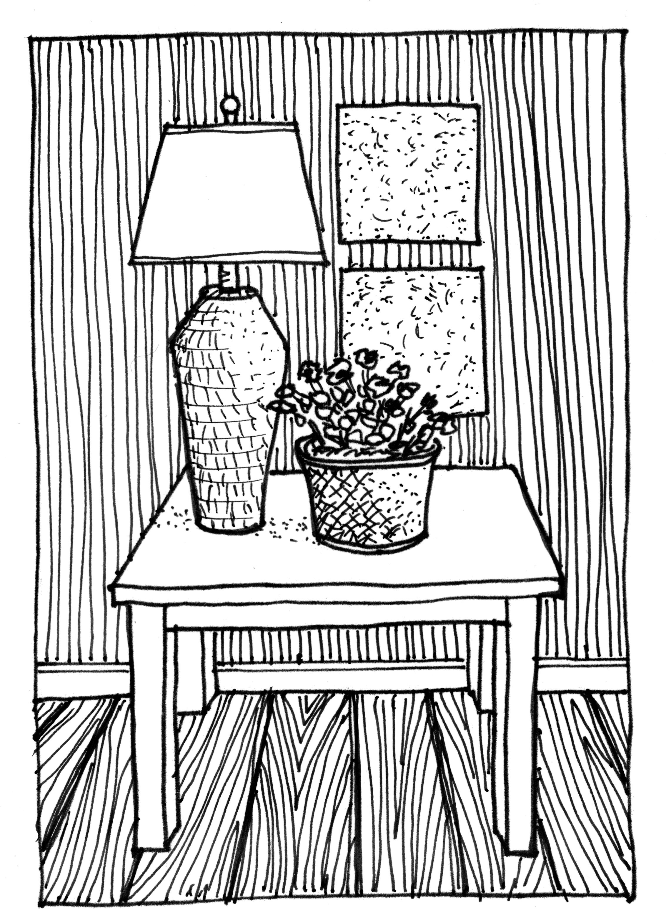 Drawing Lines In Photo Elements : Adventiges of drawing table lamp warisan lighting