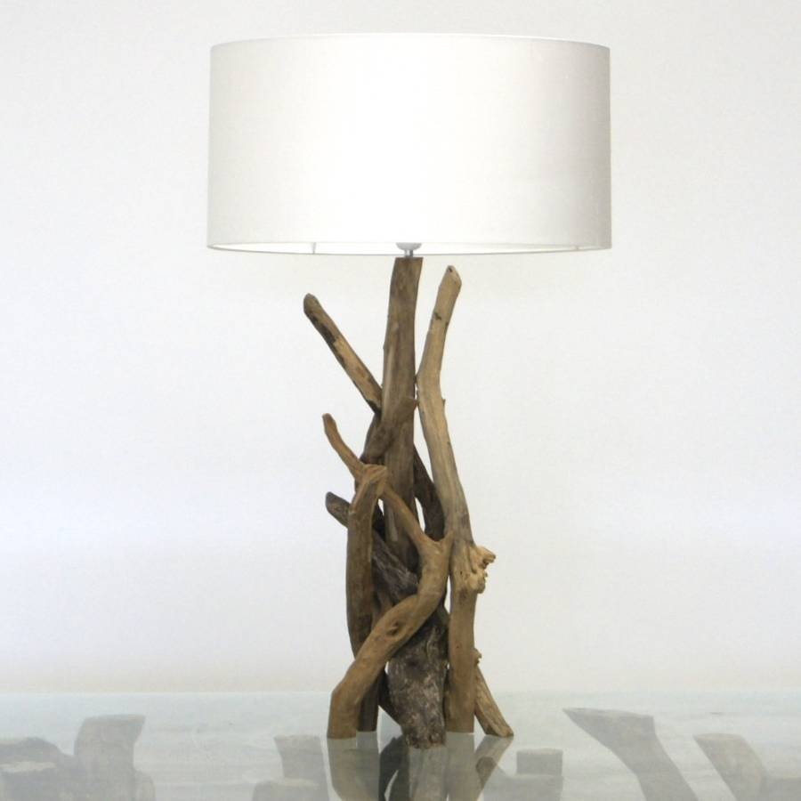 driftwood table lamps photo - 6