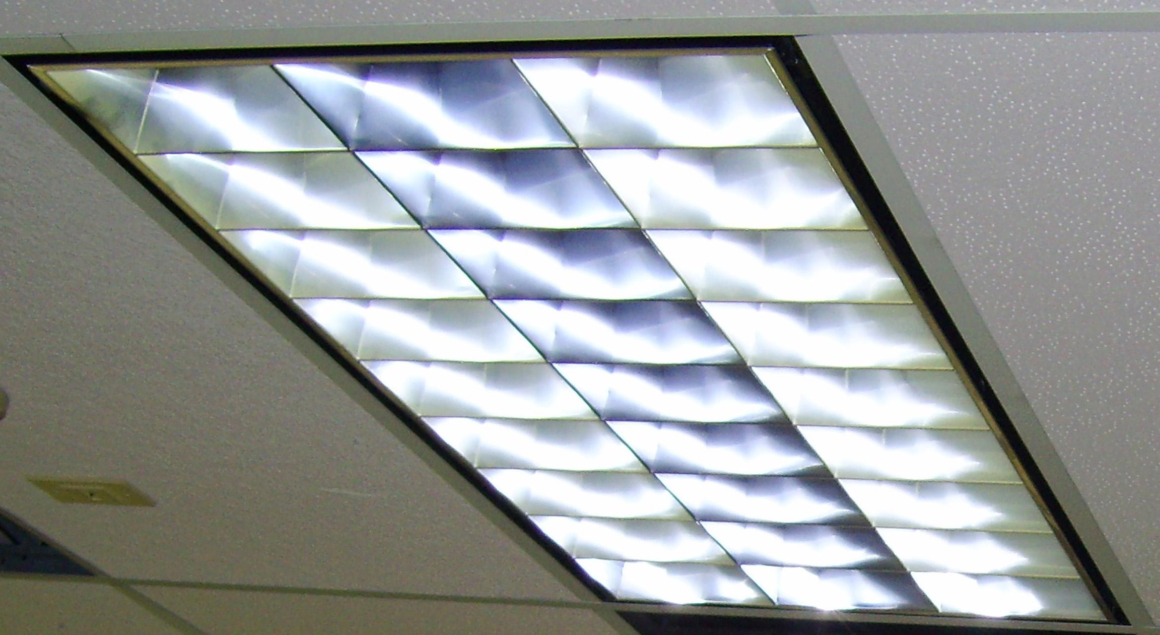 Drop ceiling fluorescent lights | Warisan Lighting