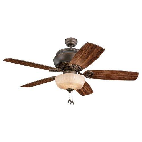 dual blade ceiling fan photo - 3