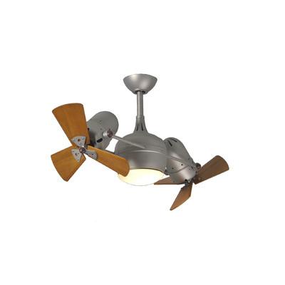 dual blade ceiling fan photo - 6