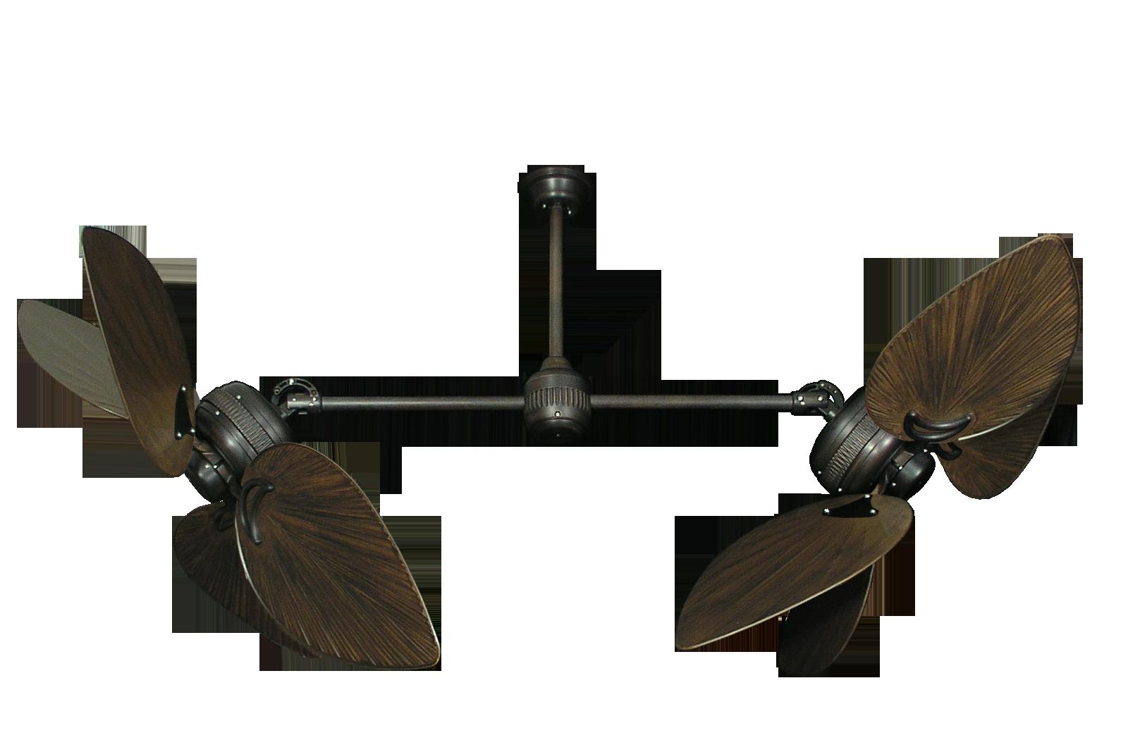dual blade ceiling fan photo - 9
