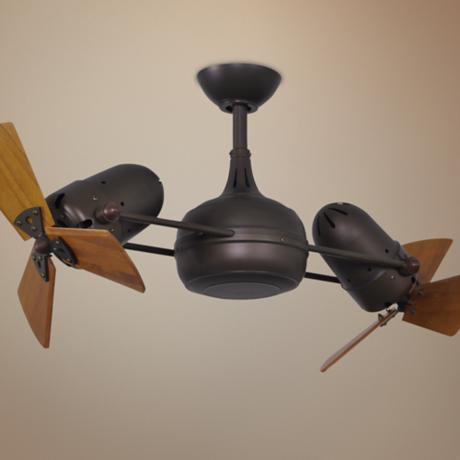 dual head ceiling fans photo - 8