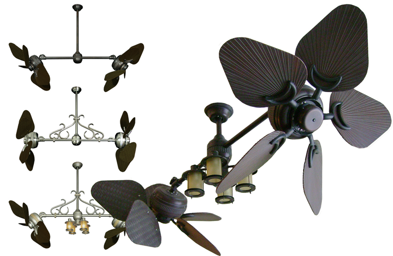dual outdoor ceiling fans photo - 10