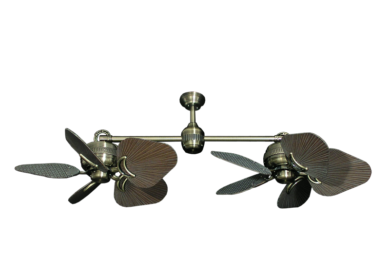 dual outdoor ceiling fans photo - 7
