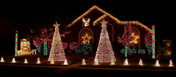 easy outdoor christmas lights photo - 8