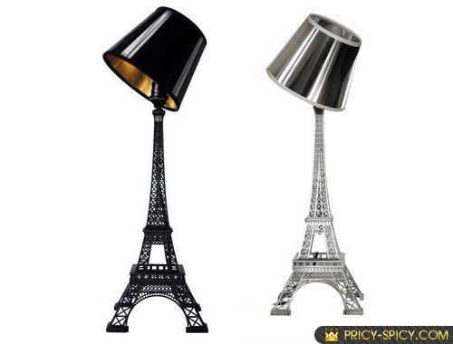 eifel tower lamp photo - 1