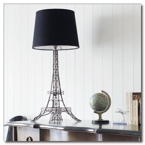 eifel tower lamp photo - 2