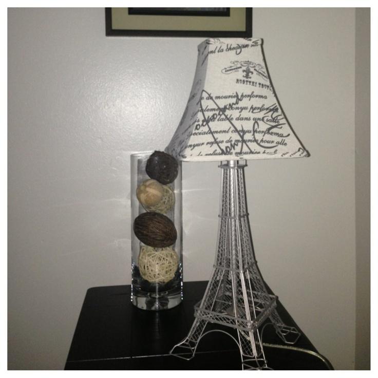eifel tower lamp photo - 3