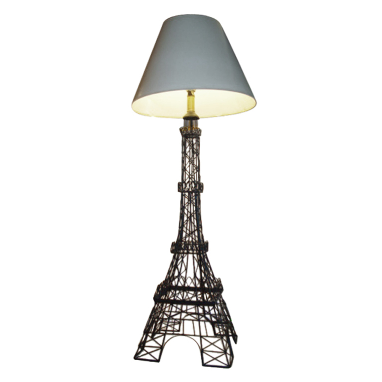 eiffel tower floor lamp photo - 1
