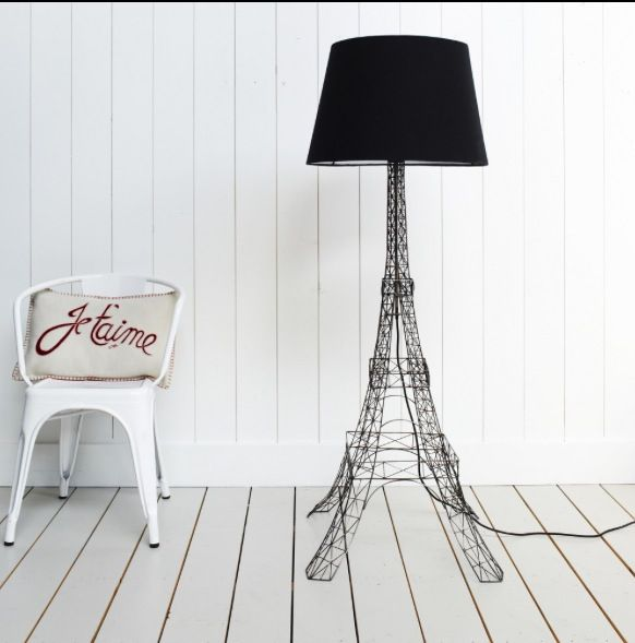 eiffel tower floor lamp photo - 2