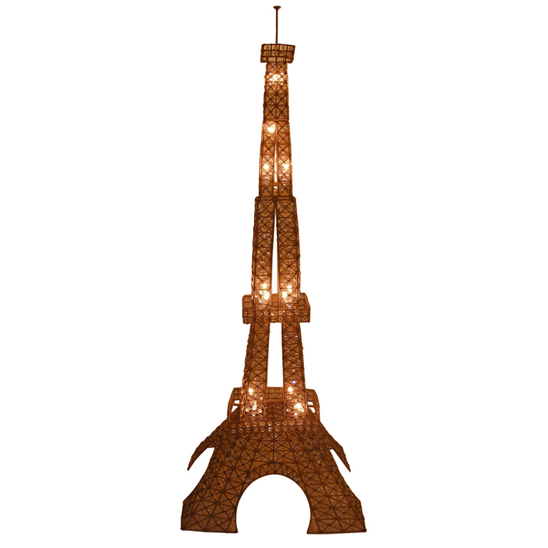 eiffel tower floor lamp photo - 3