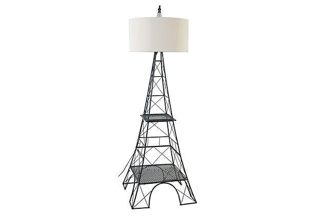 eiffel tower floor lamp photo - 8